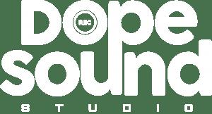 Dope Sound Studio Logo weiß
